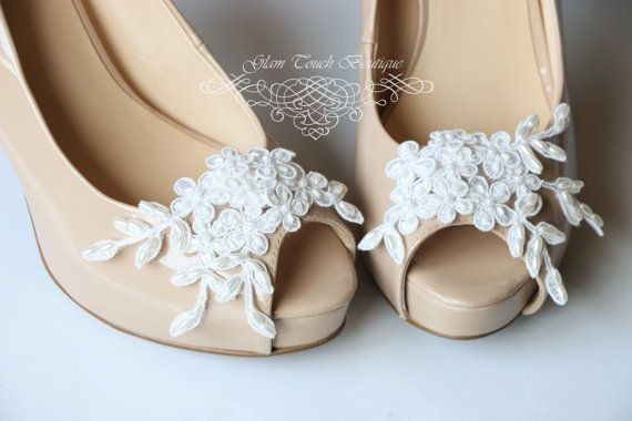 Hey, I found this really awesome Etsy listing at https://www.etsy.com/listing/193488921/bridal-lace-shoe-clips-shoe-clips-lace