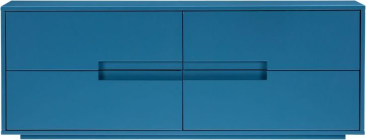 Best Latitude Slate Blue Grey Low Dresser Cb2 Blue Dresser 400 x 300