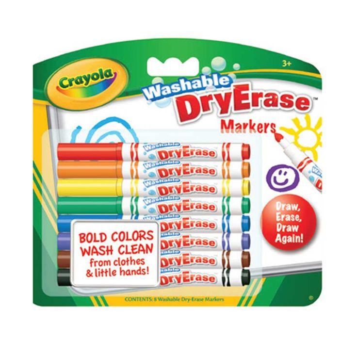 Crayola Washable Dry Erase Skinny Markers | Toys R Us Australia
