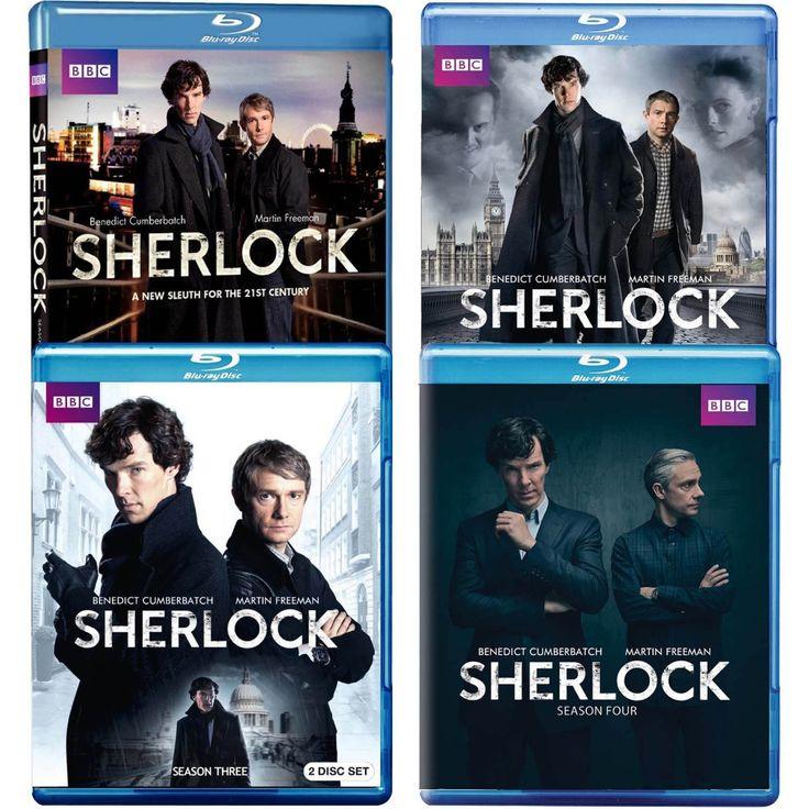 Masterpiece Mystery!: Sherlock Season 1-4 Blu-ray Combo