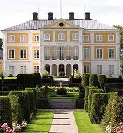 Julita gård, stora huset/ The Julita House, the main house, outside Katrineholm