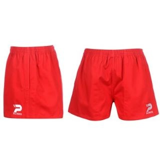 POWER RUGBY SHORTS ROSSO UOMO