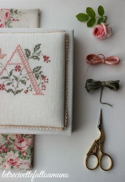 scatola ricamata - embroidery