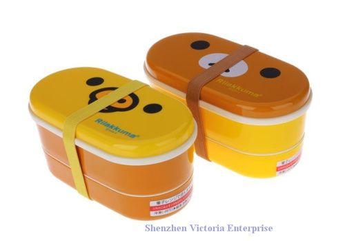 Wholesale 8PCS Kawaii SAN-X Rilakkuma BEAR Double Layers Crisper Box Case Lunch BOX Food Container BOX Holder Storage Box ; Chopsticks, Free shipping, $4.91-6.05/Piece | DHgate