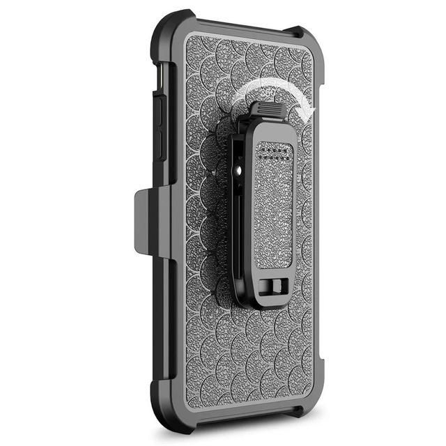 Military Grade Protection / Belt Clip - iPhone 7, 7 Plus