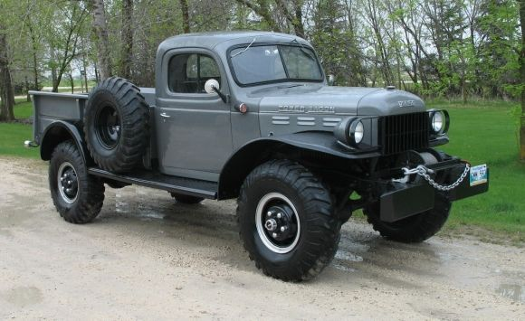 Restored 1955 Dodge Power Wagon