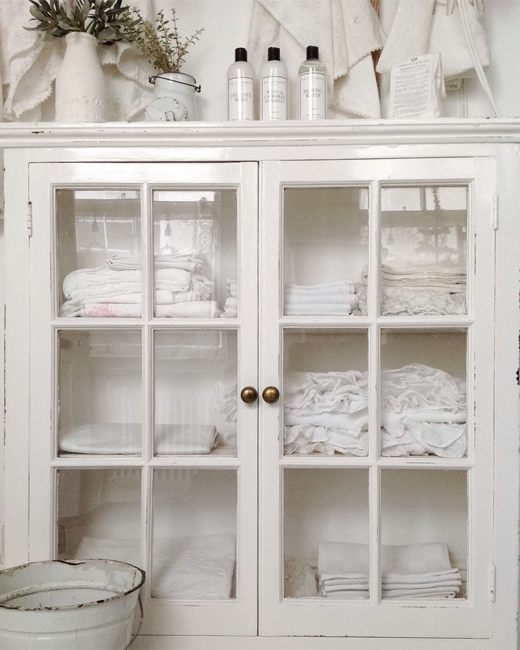 White vintage linens