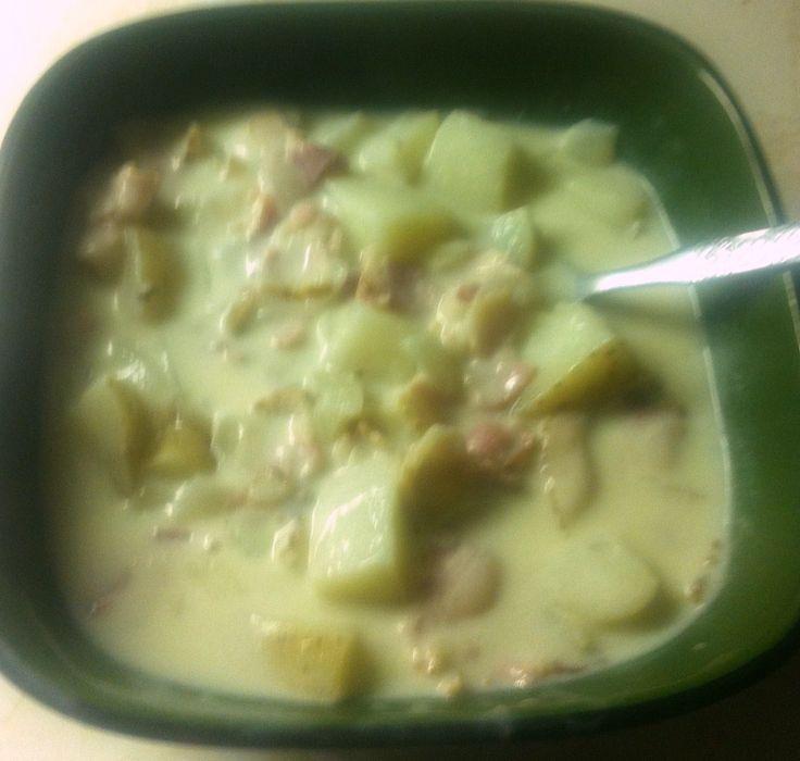 Recipe Creamy Potato Bacon Soup Like Tim Hortons
