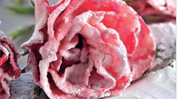 Засахаренные цветы. Пошаговый рецепт с фото, удобный поиск рецептов на Gastronom.ru