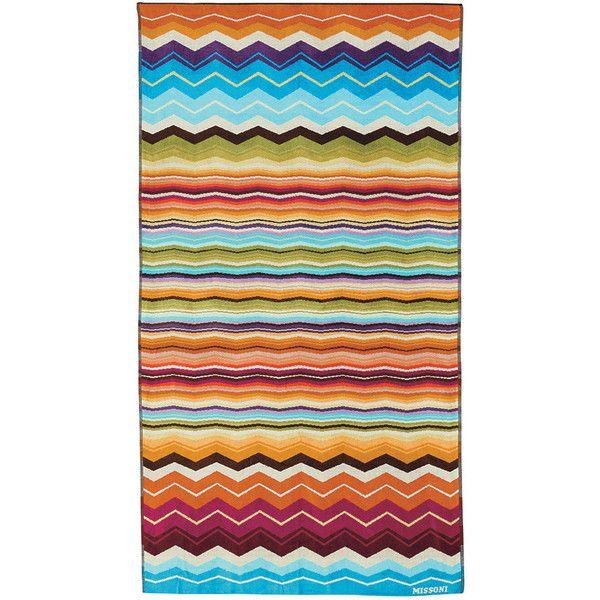 Missoni Home Hugo Beach Towel - Bright multicoloured found on Polyvore