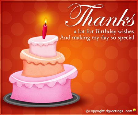76 Best images about thank you birthday wishes – Thanks for Birthday Card