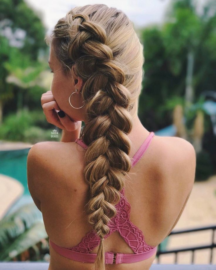 """365 Likes, 31 Comments - SHAYLA JAY (@sass.and.braids) on Instagram: """"- The rain has got me lazy so here's a dutch braid ☔️"""""""