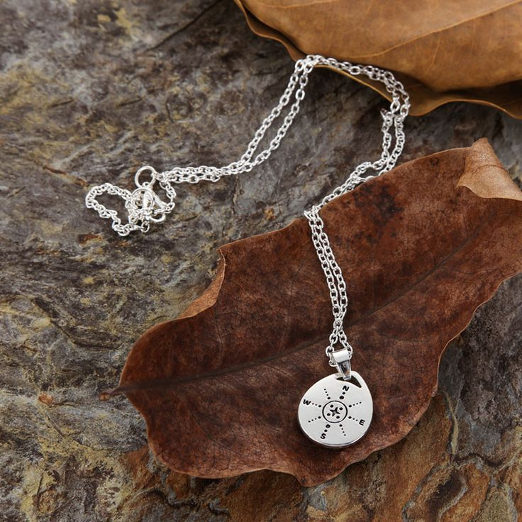 Adelaide Graduation Gifts for Her - Compass Necklace