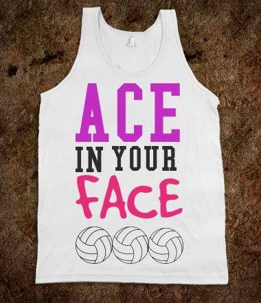 """ace in the face that makes yo booty shake!""  our vb ace cheer"