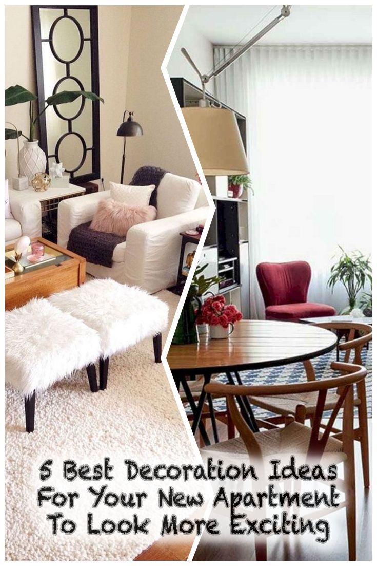 5 Best Decoration Ideas For Your New Apartment To Look More