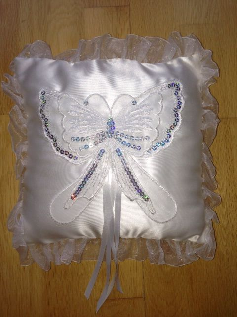 Wedding Ring cushions page boys by tiny tux