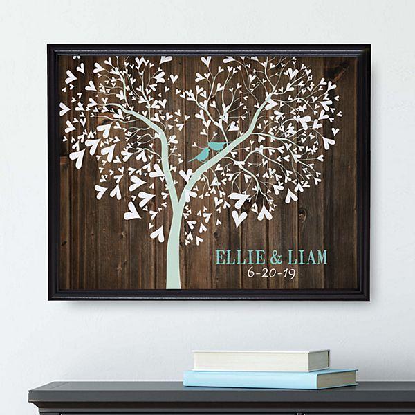 Sweet Lovebirds Canvas   Diy wedding gifts, Diy projects ...