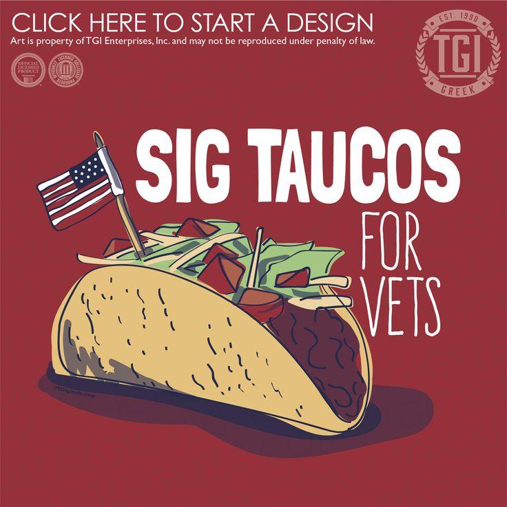 Sigma Tau Gamma | ΣTΓ | Philanthropy | Sig Taucos for Vets | TGI Greek | Greek Apparel | Custom Apparel | Fraternity Tee Shirts | Fraternity T-shirts | Custom T-Shirts