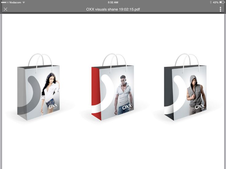OXX Shopping Bags Full Color