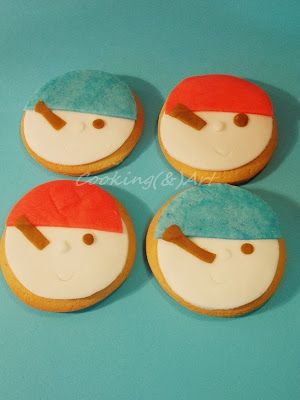 Mπισκότα ''Πειρατές'' / Pirates cookies !