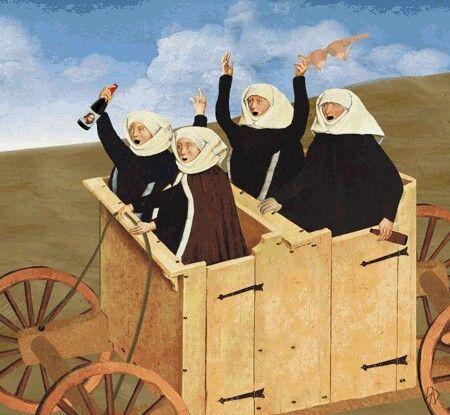 Drunk nuns :))