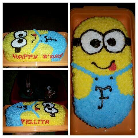 Birthday cake for cuteis fellita♥