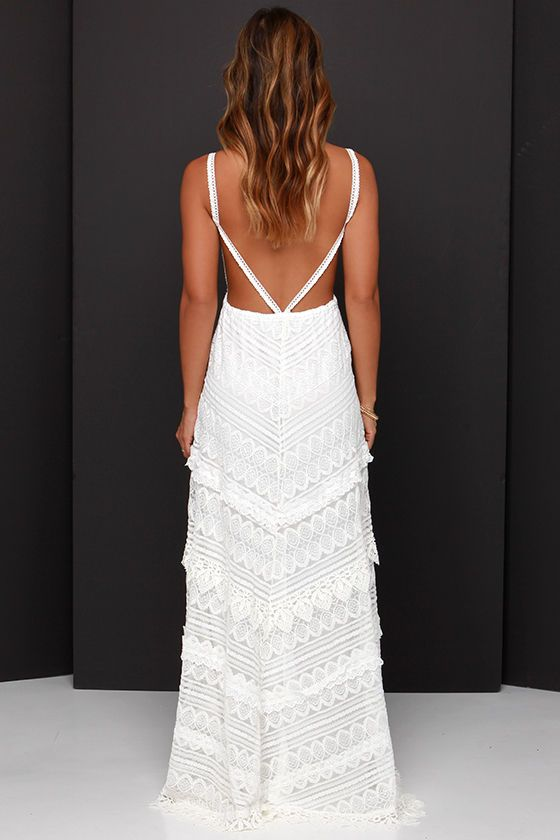 25 Best Ideas About White Lace Maxi Dress On Pinterest