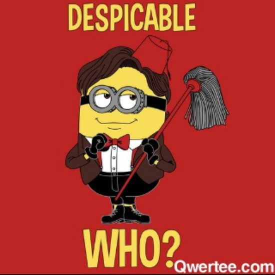 doctor who minions | Dr...who :)                                                                                                                                                                                 Más