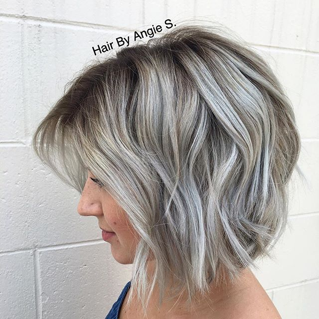 How beautiful is this dimensional silver/gray?! We finally achieved my dream…