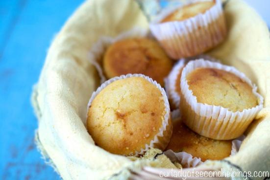 Cornbread Muffin - bez lepku, mléka a mléčných výrobků zdarma