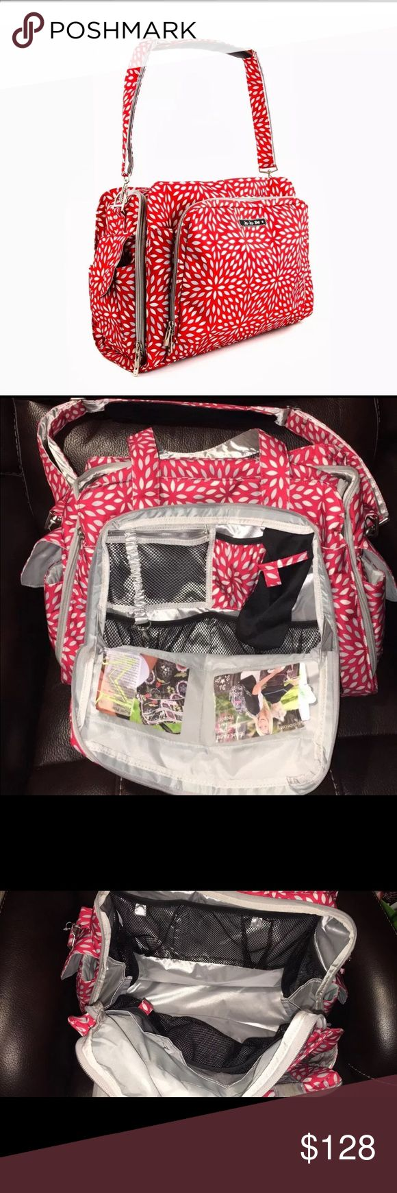 Jujube be prepared diaper bag Jujube be prepared diaper bag red scarlet. Like new, great condition, only used a few times JuJu Bags Baby Bags