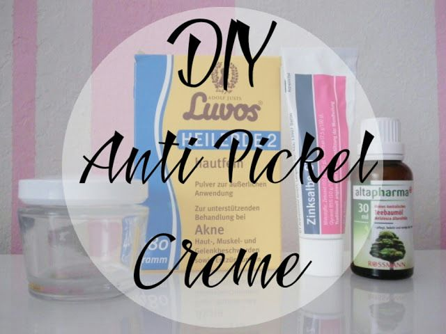 My Faible: DIY Anti pickel creme selber machen, Heilerde gegen Pickel, Pickelcreme selber machen, Teebaumöl gegen Pickel, diy Creme