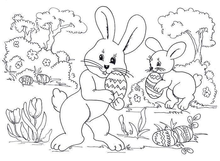 1001 Schone Osterbilder Zum Ausmalen Fur Kinder Malvorlagen Ostern Malvorlage Hase Herbst Ausmalvorlagen