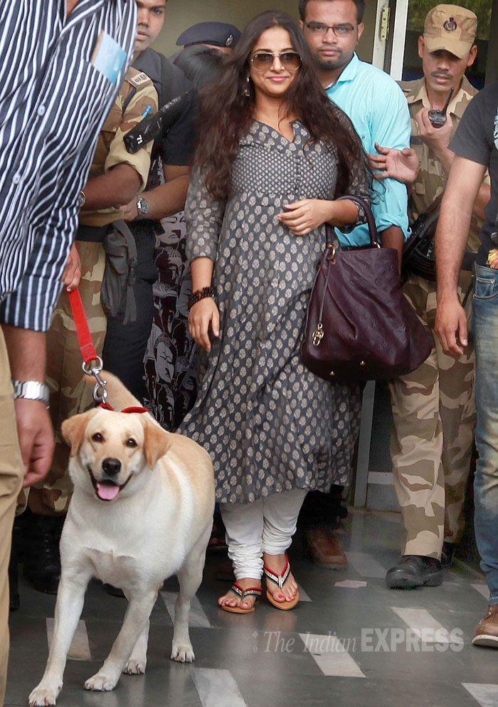 'Bobby Jasoos' Vidya Balan busy inVadodara. #Style #Bollywood #Fashion #Beauty