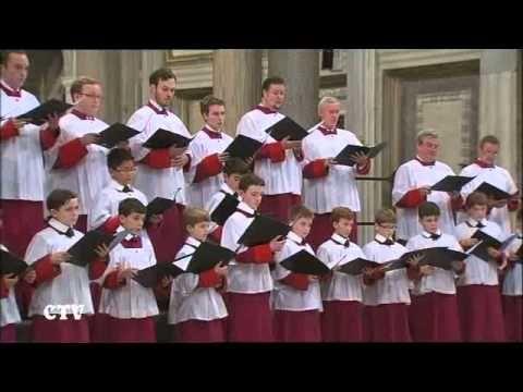XI Festival Internazionale di Musica e Arte Sacra Cappella Musicale Pontificia Sistina Cappella Musicale Pontificia Sistina