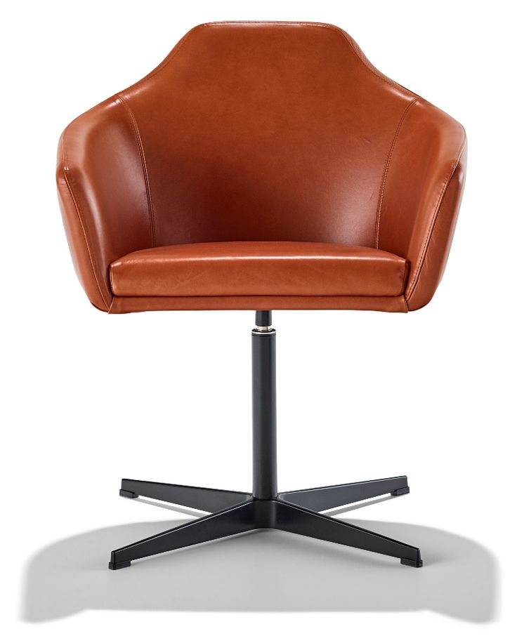 Aniline leather Palomino chairs | Schiavello.