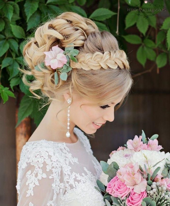 Фотографии свадебных причесок