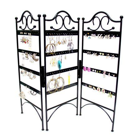 Free Shipping. Buy Mango Steam 3-Panel Jewelry Organizer for Hanging Earrings at Walmart.com