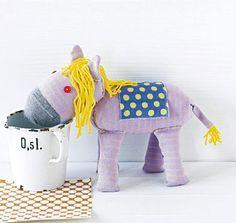 Was so alles in einer Socke steckt ... ein Pferd, ein Hund, ein Schwein ....