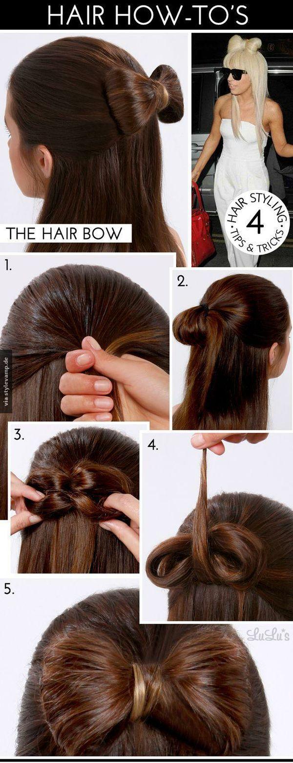 Die Mega-Haarschleife