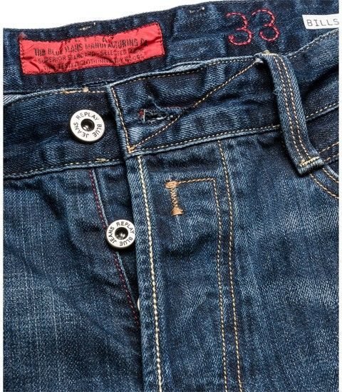 Jeans Man Classic Fit - BILLSTRONG 606 300 - Replay