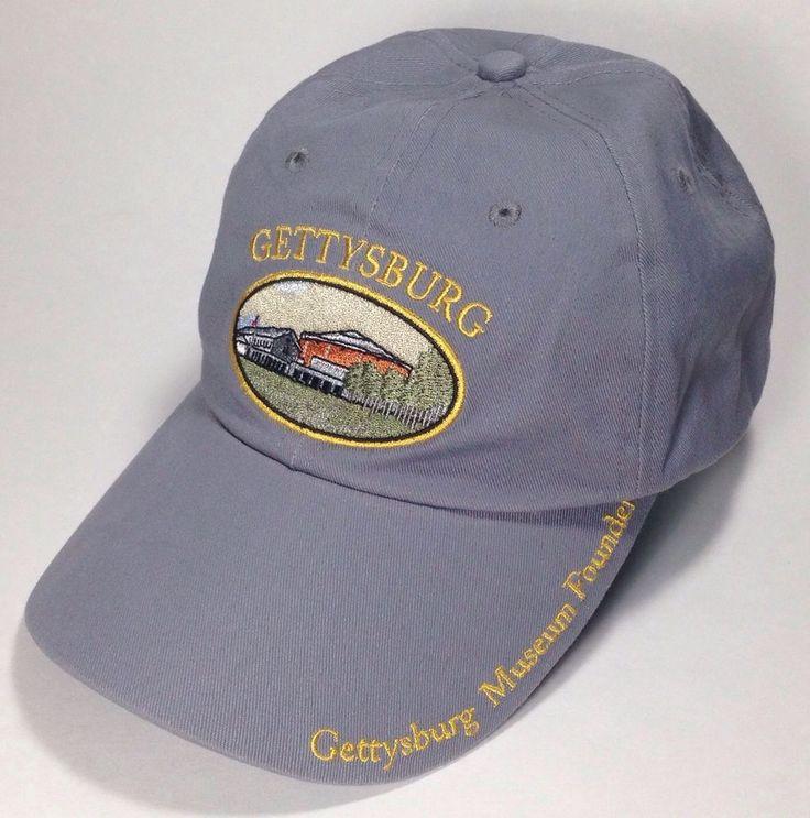 gettysburg pennsylvania museum foundation baseball hat cap