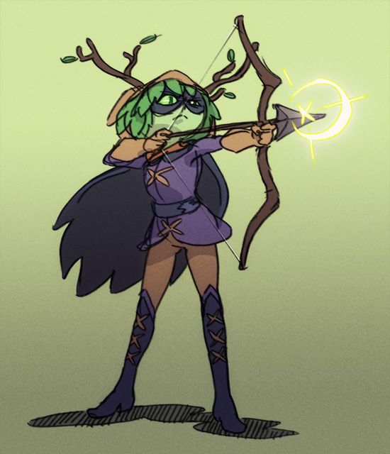 """I think Huntress Wizard might have the best design in Adventure Time."""