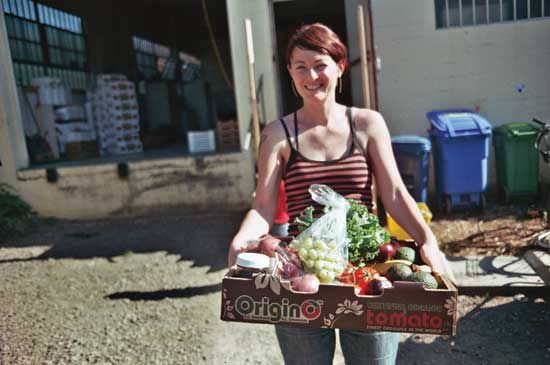 You can save money on food by buying in bulk. If you prefer organics, bulk food can provide even more savings.