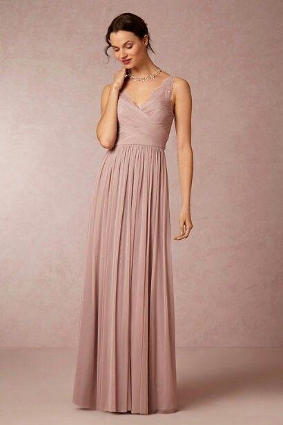 Dusty Rose Bridesmaid Dresses Pinte