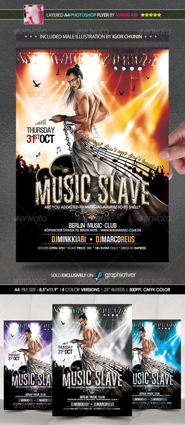 Music Slave Poster/Flyer