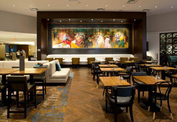New Orleans Marriott Metairie at Lakeway - great room
