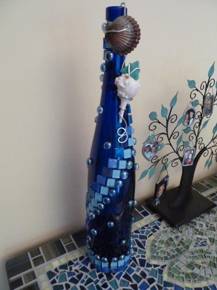Craft Decorating Wine Bottles