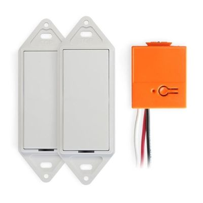 GoConex 1.5-Amp Wireless 3-Way Dimmer Switch Kit (Two switches, one controller)