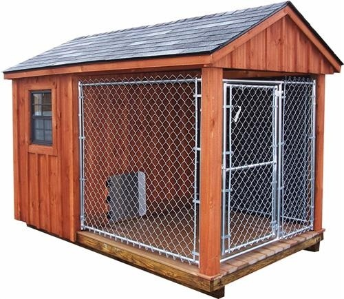 Pinterest the world s catalog of ideas for Dog kennel shed combo plans